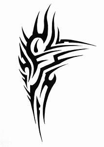 Tumblr Tribal Shoulder Tattoo Design 2015