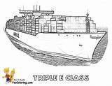 Ship Tanker Super Triple Coloring Cargo Yescoloring Printables Ships Boat Mega Class Tankers Seas Deep sketch template
