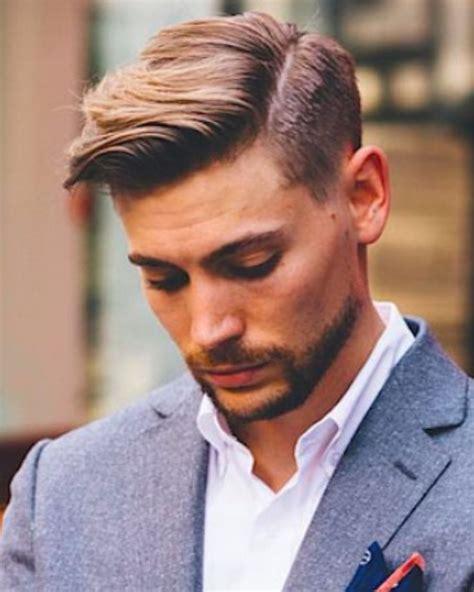 De haarstijl voor de zakenman   mannen kapsels 2018