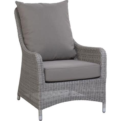 fauteuil de jardin en r 233 sine couleur galet transat