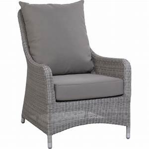 Fauteuil En Resine : fauteuil de jardin en r sine couleur galet transat ~ Teatrodelosmanantiales.com Idées de Décoration