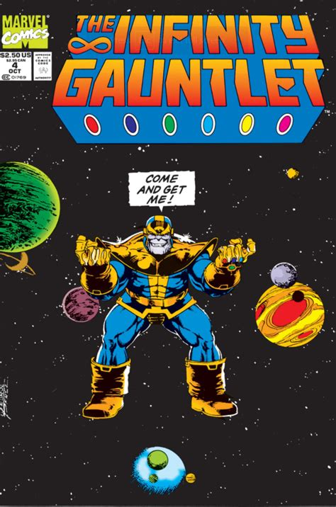 infinity gauntlet event marvel comics