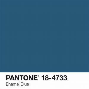 Code Couleur Pantone : tollens pantone enamel bleu art pantone pinterest pantone ~ Dallasstarsshop.com Idées de Décoration