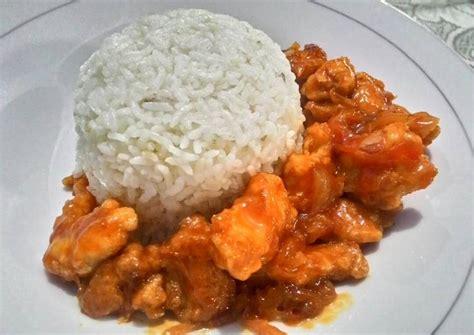 Aneka resep tahu fantasi yang lezat, gurih dan. Gambar Nasi Ayam Asam Manis - Gambar Kodok HD