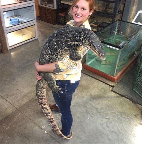 big asian water monitor animals pet lizards baby
