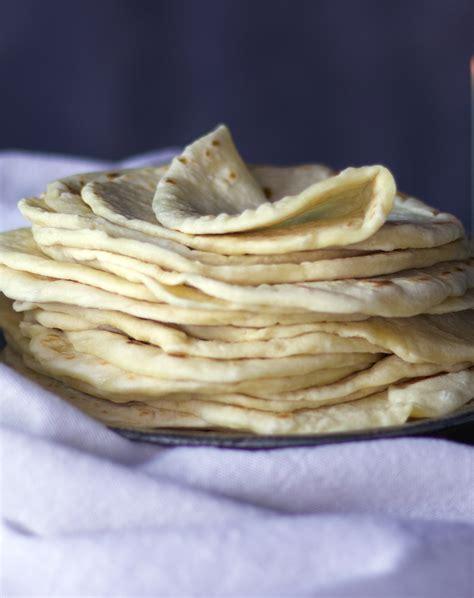 soft homemade flour tortillas butter recipe  batter