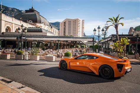 zenvo st tours monaco supercar car sports orange