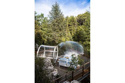 chambre bulle dans la nature la bienveillante bulles des bois