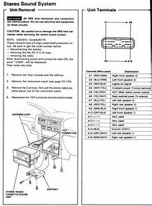 92 Honda Accord Stereo Wiring Diagram