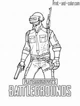Coloring Pages Pubg Battlegrounds Playerunknown Nights Sonic Might Freddy Five sketch template
