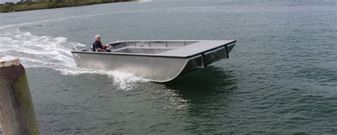 Punt Boat by Horizon Boats Commercial Work Boats Punt Barge
