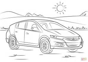 honda insight coloring page free printable coloring pages With 2009 honda cr v