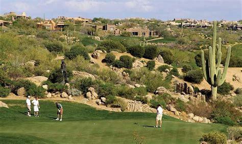 desert mountain gated golf community  scottsdale