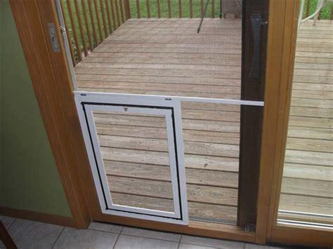 screen door with doggie door built in lowes diy doggie door for screen diy do it your self