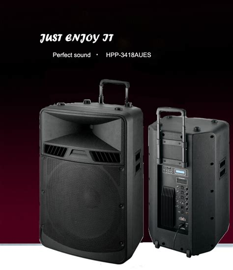 portable trolley audio box speaker with usb port buy speaker box with trolley portable audio