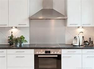 Weiße Hochglanz Küche Reinigen : kueche renovieren edelstahlrueckwand ~ Markanthonyermac.com Haus und Dekorationen