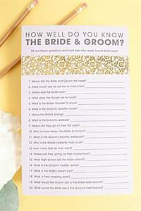 free how well do you know the bride groom game free With wedding shower for two grooms