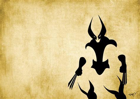 Minimalist Wolverine By Thiagoxg On Deviantart