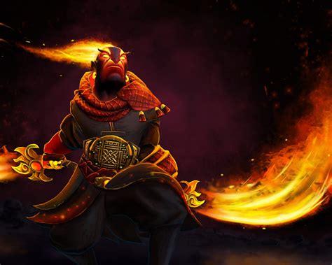 ember spirit flame swords dota  heroes skin art desktop