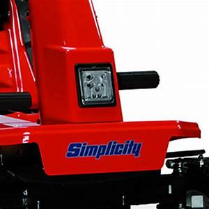 Snapper  Simplicity Led Light Kit  Rear Engine Riding Mower 7600197 Oem Usa