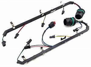 6 4l Powerstroke Diesel Ford 6 4 Fuel Injector Wiring Harness Set F250 F350 F450