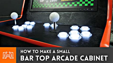 Raspberry Pi Arcade Cabinet Size by How To Make A Bar Top Arcade Cabinet I Like To Make Stuff