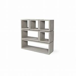 Cube De Rangement : cubes de rangement b ton monobloc modulables lyon b ton ~ Farleysfitness.com Idées de Décoration