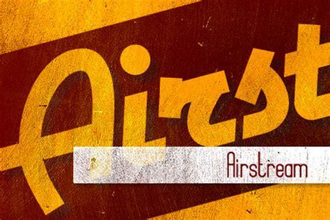 popular  retro vintage fonts