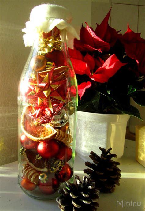 weihnachten  der flasche handmade kultur