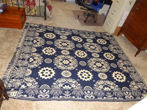 Antique Coverlets Can You Appraise A Woven Coverlet Made