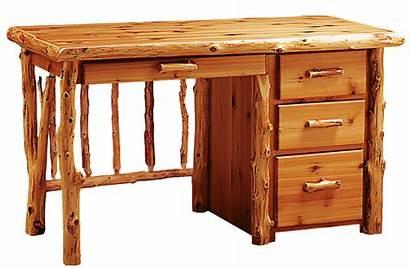 Desk Timberland Log Furniture Rustic Office Timber