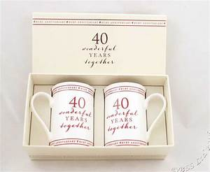 40th anniversary traditional gift cbertha fashion the for 40th wedding anniversary traditional gift