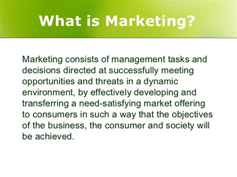 What S Marketing by Functional Marketing Management