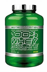 Scitec Nutrition 100  Whey Isolate Protein 2000g Sugar Free Fat Free Amino Acids