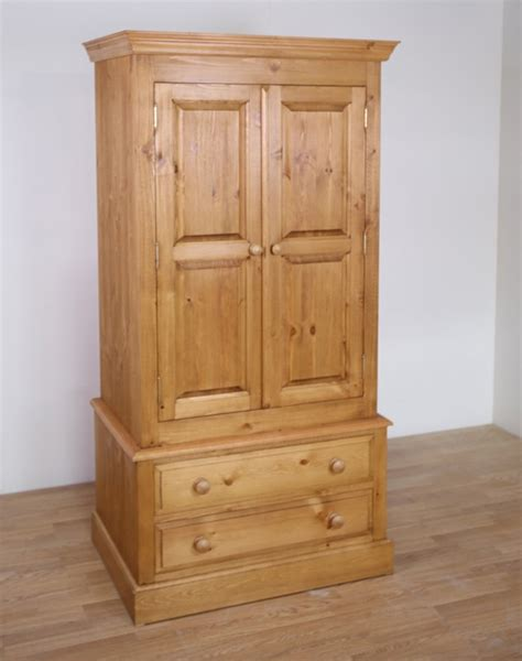 Solid Pine Wardrobe by Pine Wood Wardrobes Solid Pine Edwardian Childrens