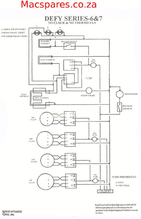 wiring diagram for defy gemini oven roc grp org