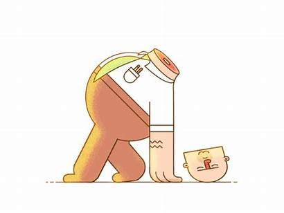 Behance Random Gifs Mondays Tuesdays Animation Babel