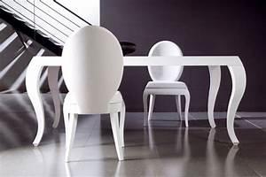 Chaise Medaillon Blanche : chaise salle manger quelle couleur convient le mieux ~ Teatrodelosmanantiales.com Idées de Décoration