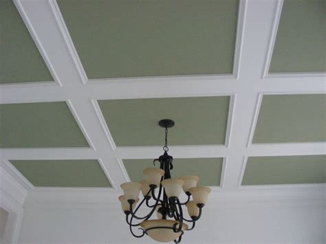 Suspended Coffered Ceiling by Coffered Ceiling Trim Suspended Drop Living Room