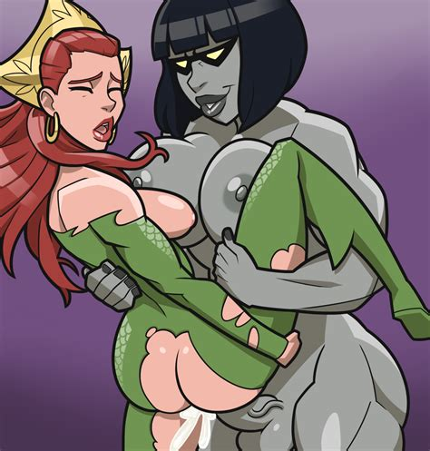 fem darkseid and mera by suplexpizza hentai foundry