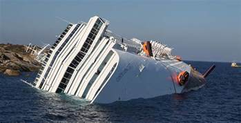 costa concordia accident pictures of cruise ship sinking