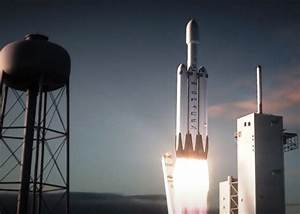 SpaceX releases animation of Falcon Heavy launching from ...
