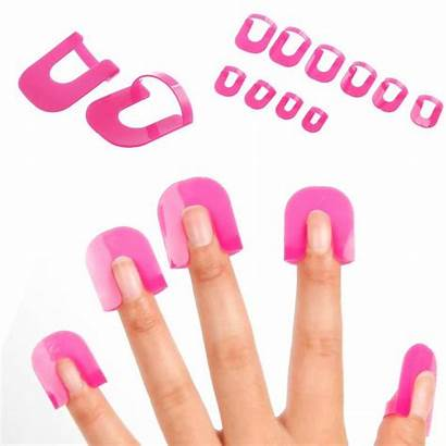 Clip Manicure Nail Gel Polish French Tool