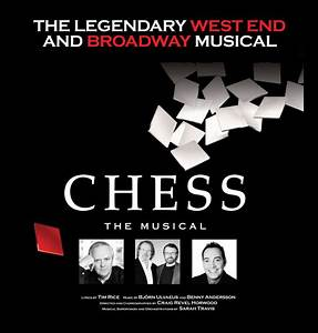 CHESS directed by Craig Revel Horwood: Tour dates, venues ...