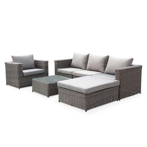 canape de jardin resine canape jardin resine tressee royal sofa idée de canapé