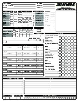 star wars dd  edition conversion  documents
