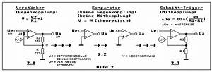 Kapazität Berechnen : vom operationsverst rker zum schmitt trigger gegenkopplung komparator mitkopplung demoschaltung ~ Themetempest.com Abrechnung
