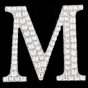 silver rhinestone glitter letter sticker  silver glitter glitter letters lettering
