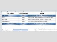 Excel Course Conditional Formatting examples 4 to 6