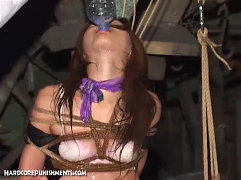 Hardcore Punishments Amateur Japanese Slave Girl Gets Tied